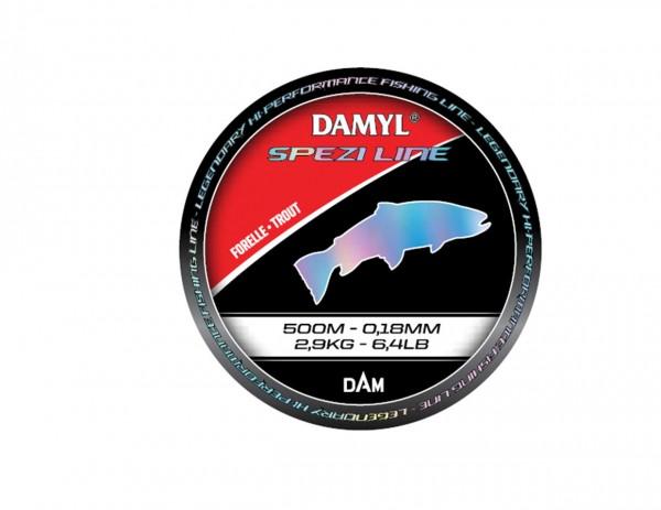 DAM DAMYL Spezi Line Forelle Trout versch. Diameter - LL 500m