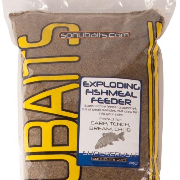 Sonubaits Feeder Groundbait Exploding Fishmeal Feeder 2 kg