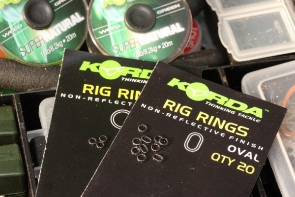Korda Rig Rings Oval Inh. 20 Stück