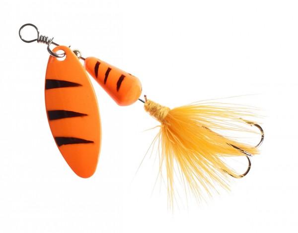 Balzer Conel Spinner Fuzzy Orange Tiger versch. Gewichte