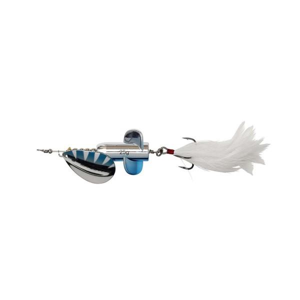 DAM Effzett Rattlin Spinner - Silver Blue 11cm 18g