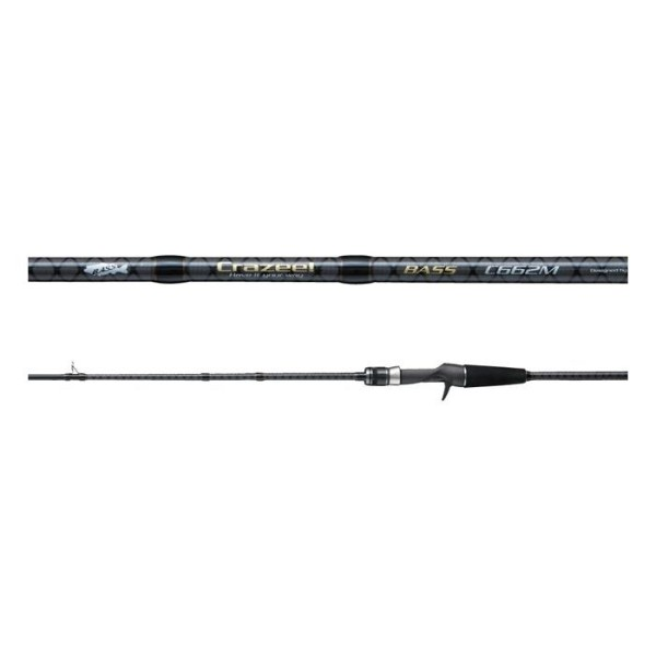 A-Tec Crazee Bass C622M Baitcast Rute 5-21g