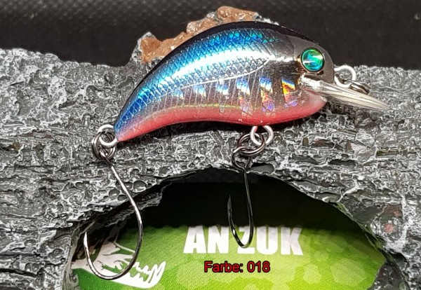 Usami An Zuk Trout Hunter 32SP 3,0cm 2,2gr. suspending TT 0,3-0,7m versch. Farben