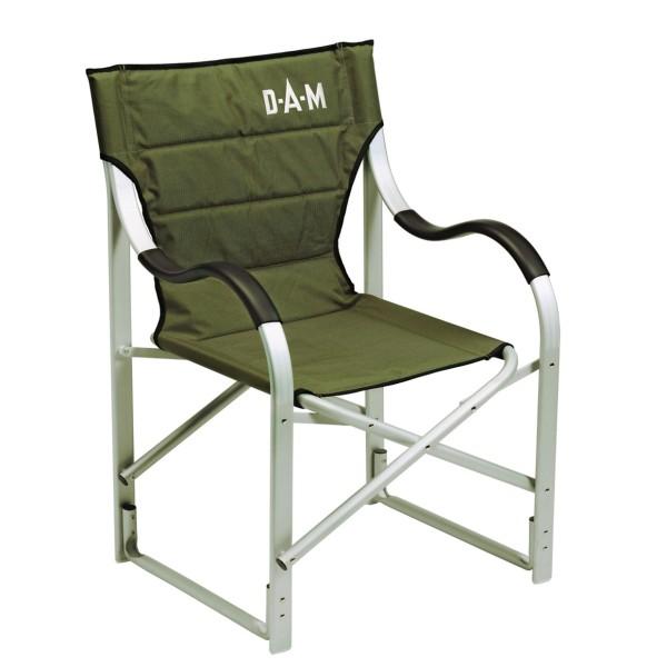 DAM Aluminium Luxus Faltstuhl - Regie Style