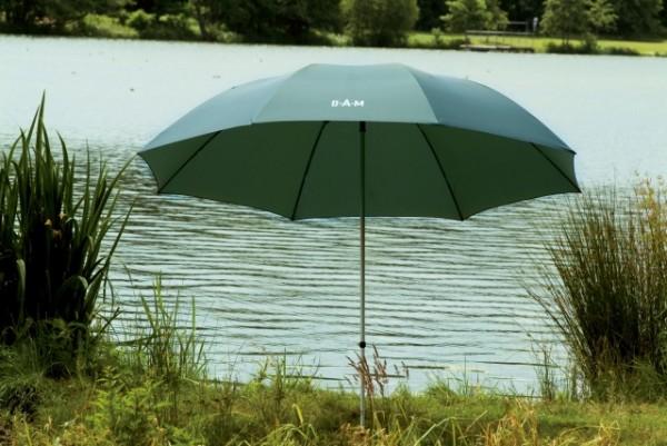 DAM Angelschirm - Rip Stop 2,60m - Angling Umbrella Gigant