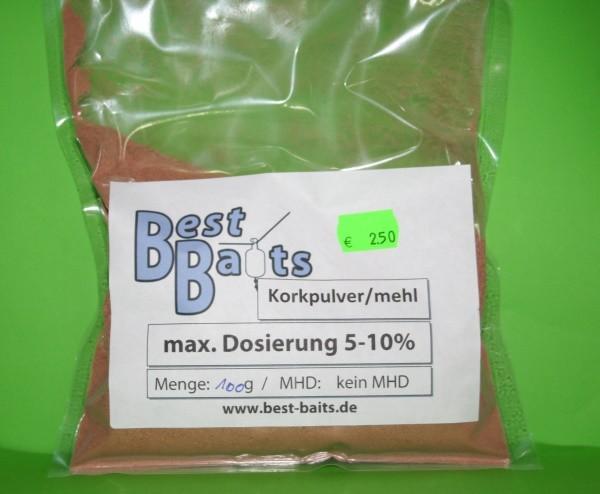 Best Baits Korkpulver - 100g Make your own Pop Up