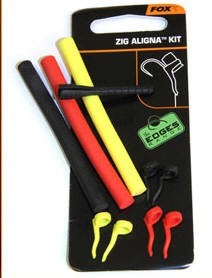 FOX Tackle Zig Aligna Kit schwarz rot gelb