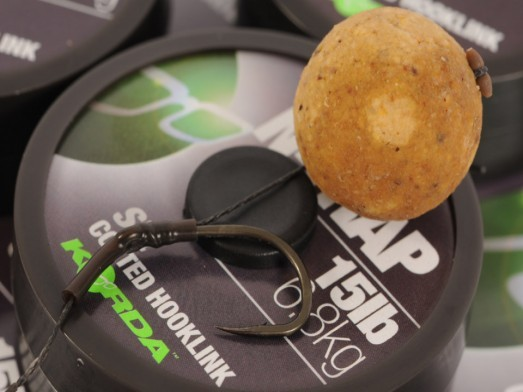 Korda Soft N-Trap - Gravel Brown - Coated Hooklink