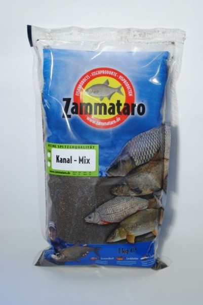 Zammataro Kanal Mix Black - 1kg