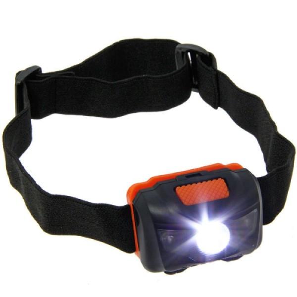 NGT LED-Headlight weißem und rotem Licht (100 Lumen)