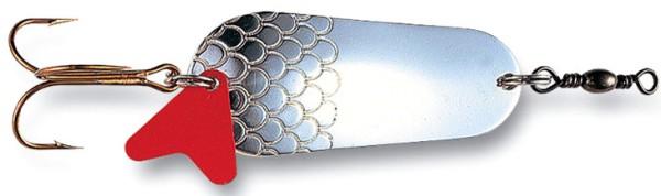 DAM Effzett Blinker Das Original Silber 65mm / 30gr.