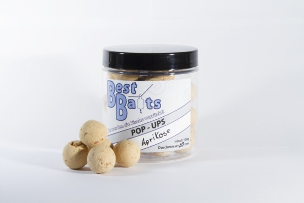 Best Baits Pop Ups - Aprikose 20mm 100g - Sonderedition