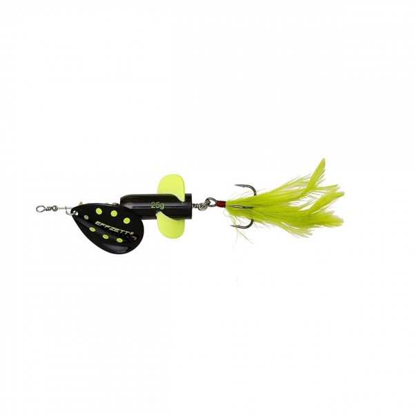 DAM Effzett Rattlin Spinner - Black Demon 11cm 18g