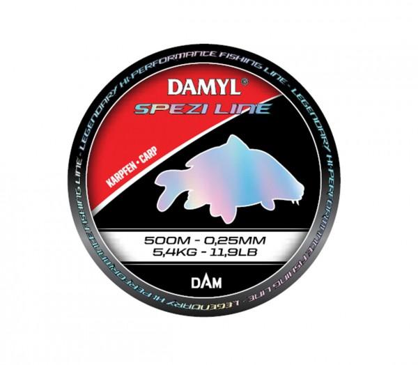 DAM DAMYL Spezi Line Karpfen - Carp versch. Diameter und Länge