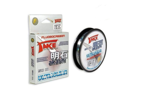 Take akashi Fluorocarbon 0,45mm 25kg 50m