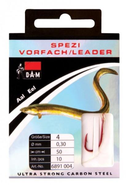 DAM Spezi Aal Haken versch Gr.50cm Inh. 10 St.