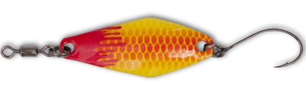 Magic Trout Bloody Zoom Spoon red / yellow #2 2,5g
