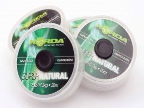 Korda Super Natural - Weedy Green 18lb/8,2kg - 20m