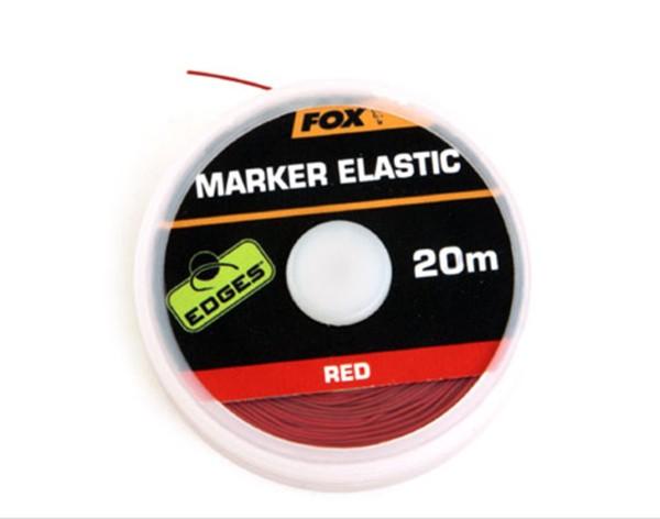 FOX Edges Marker Elastic 20m - red