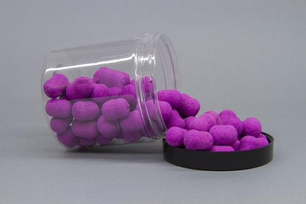 Best Baits Fluo Dumbles Pop Ups - fluo purple - Plum Pflaume 100g versch. Größen
