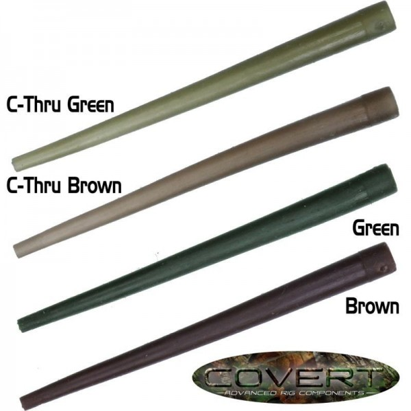 Gardner Tackle Covert Range Anti Tangle Sleeves Solid Green (Grün) oder Solid Brown (Braun)