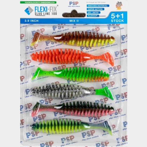 PSP Flexi-Fix slug line 100 Mix 2 - 10cm - Inh. 6st