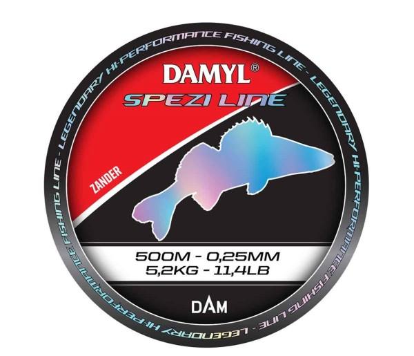 DAM DAMYL SPEZI Line Zander vers. Diameter - Längen