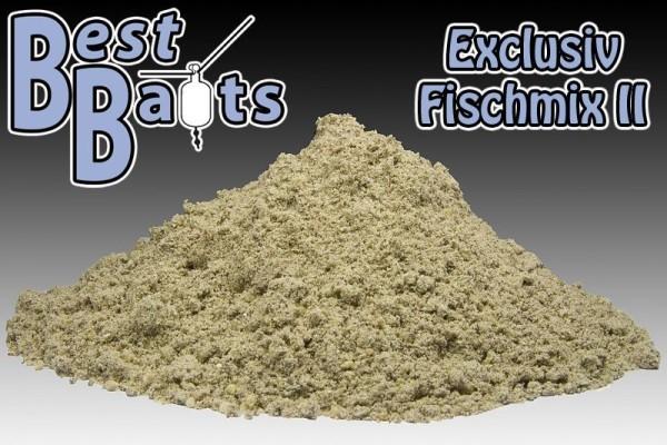 Best Baits Exclusiv Fisch Boilie Mix 2 - Der schwarze Fischmix