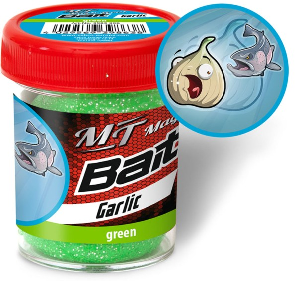 Quantum Magic Trout Bait green Garlic 50g