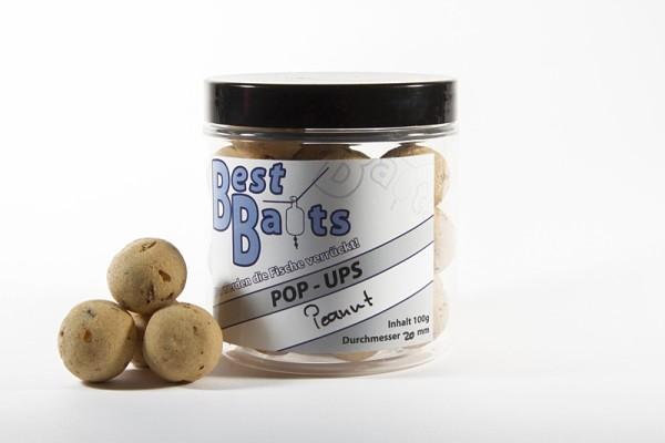 Best Baits Pop Ups - Peanut - Erdnuss 20mm 100g - Sonderedition