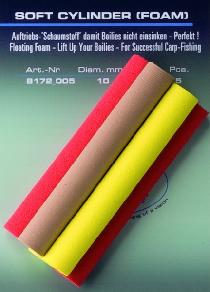 Jenzi Soft Cylinder Foam UP Auftriebsmittel 8 mm Inh.5st
