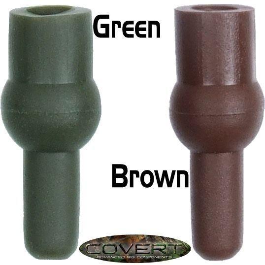 Gardner Tackle Covert Range Tulip Beads Solid Green (Grün) oder Solid Brown (Braun)