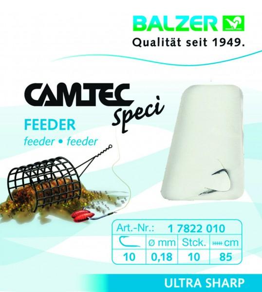 Balzer Camtec Spezi Feeder - silber - 85cm versch. Gr.- Inhalt 10st