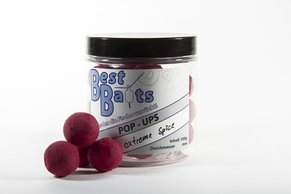 Best Baits Pop Ups - extreme Spice 20mm 100g - Sonderedition