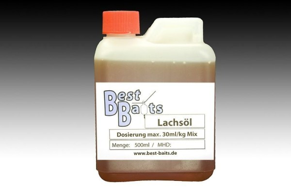 Best Baits Lachsöl 0,5 Liter