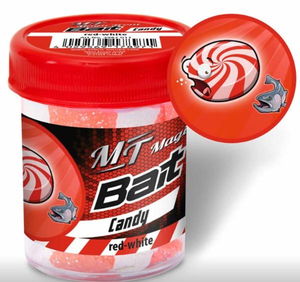 Quantum Magic Trout Bait Taste white / red Candy 50g