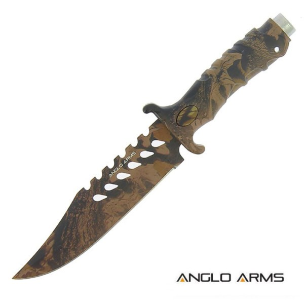 Anglo Arms Outdoor Messer Camo Rubber