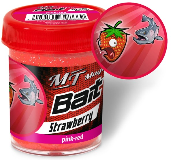 Quantum Magic Trout Bait Taste pink / red Strawberry 50g