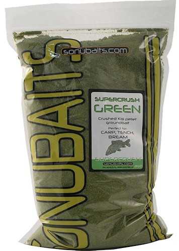 Sonubaits Groundbait Supercrush Green 2kg