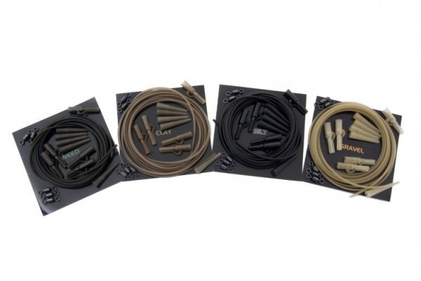 Korda Lead Clip Action Pack - Gravel / Inh. 5 Stück