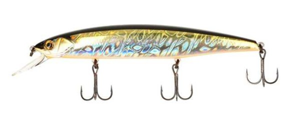 Bassday Mogul Minnow 130SP SB-304 Silver Black