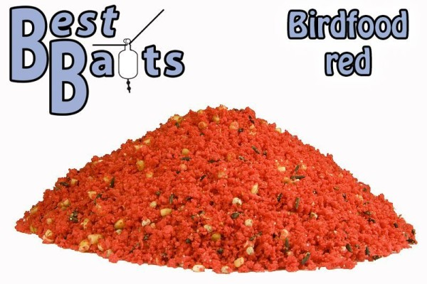 Best Baits Birdfood rot (feucht)