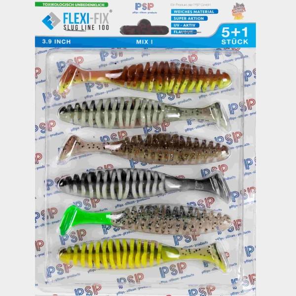 PSP Flexi-Fix slug line 100 Mix 1 - 10cm - Inh. 6st