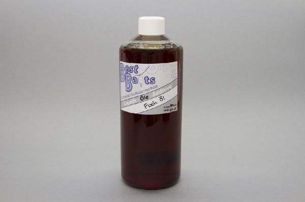 Best Baits Fisch Öl - Fish Oil Inh. 500ml