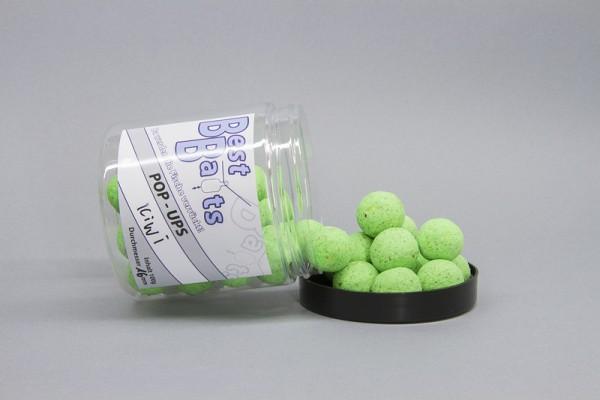 Best Baits Fluo Pop Ups - fluo green Kiwi 100g versch. Größen