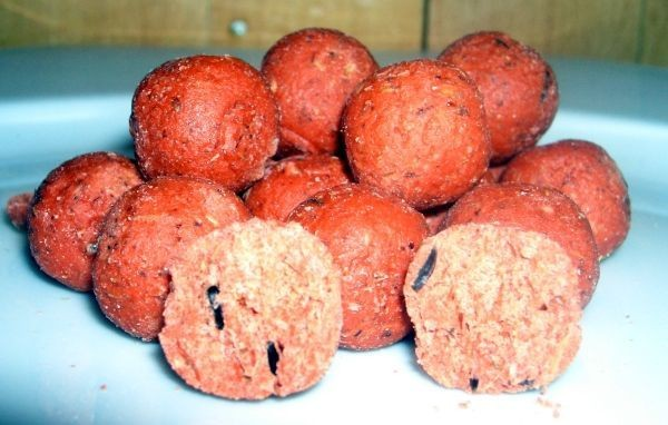 Best Baits Fruit of Strawberry Boilie Mix