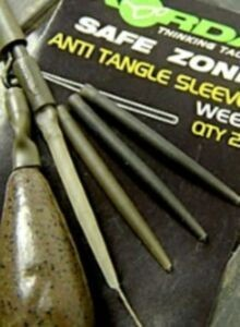 Korda Safe Zone Anti Tangle Sleeves versch. Farbe Inh. 10Stück
