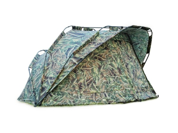 MK-Angelsport Bivvy MK Fort Knox Nature Pro Dome 3,5 Mann Angelzelt
